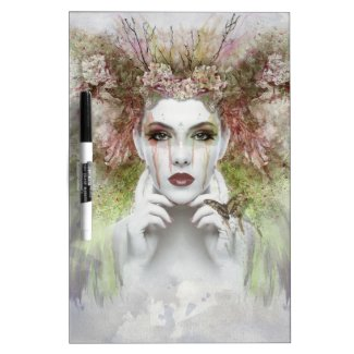 Enchanting Face Dry-Erase Board