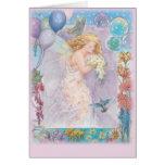 enchanting FAIRY BIRTHDAY GREETING Greeting Card