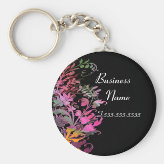 Enchanting Flowers Business Key Chain