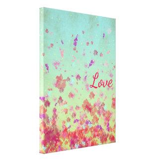 Enchanting Flowers - Canvas Print