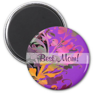Enchanting Flowers Mother's Day Magnet