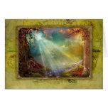 Enchanting Grotto Greeting Card