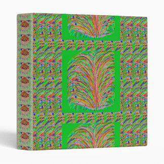 ENCHANTING  : Line Art Grass Bush Binder