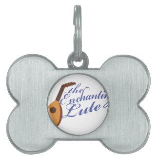 Enchanting Lute Pet Name Tag