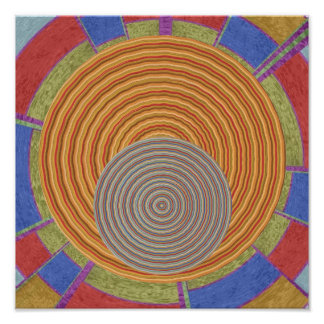 Enchanting Series - Art101 Graphic Flying Discs Poster