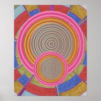 Enchanting Series - Art101 Graphic Flying Discs Print