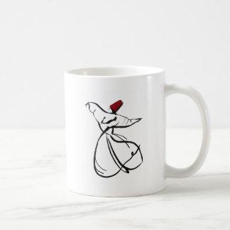 enchanting sufi classic white coffee mug