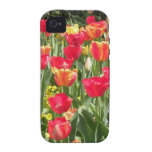 Enchanting Tulips iPhone 4 Case-Mate Tough Case