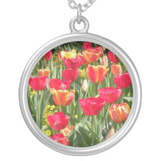 Enchanting Tulips Necklace
