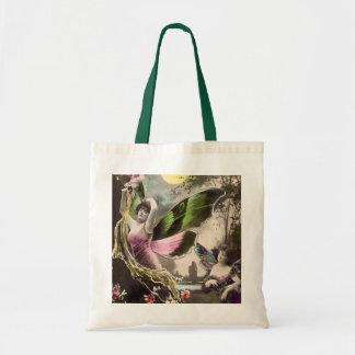 Enchanting Vintage Fantasy Faries Tote Bag