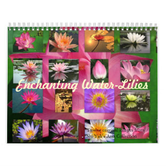 Enchanting Water-Lilies 2013 Fine Art Photography Wall Calendar