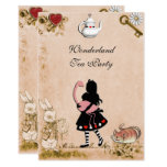 Enchanting Wonderland Tea Party Mother`s Day Invitation