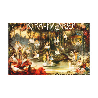 Enchantment 1886 gallery wrapped canvas