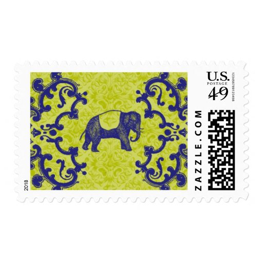 Enchantment B by Ceci New York Postage Stamps