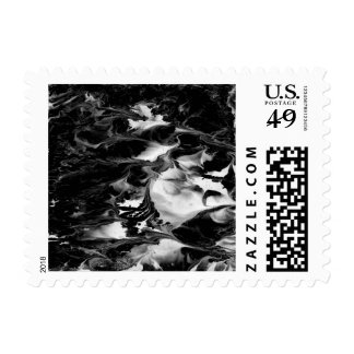 ENCHANTMENT  (black & white art) ~.jpg Postage