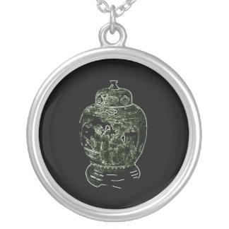 Enchantment Round Pendant Necklace