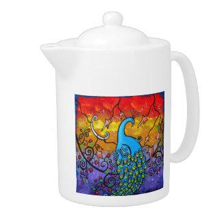 Enchantment Peacock Tea Pot