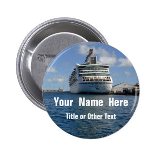 Enchantment Stern Name Badge 2 Inch Round Button