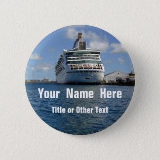 Enchantment Stern Name Badge Pinback Button