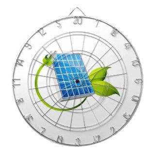 Enchufe de la hoja del panel solar