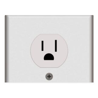 Enchufe de pared eléctrico
