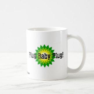 ¡Enchufe del bebé del enchufe! Taza