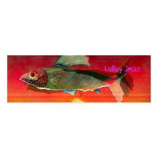 Enchufes de LeRoy de los pescados Tarjeta Personal