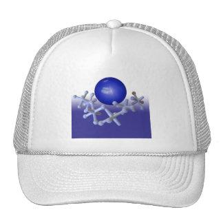 Enchufes y azul retro clásico determinado del casq gorros