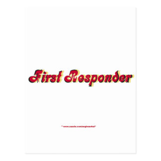 Encienda al primer respondedor postal