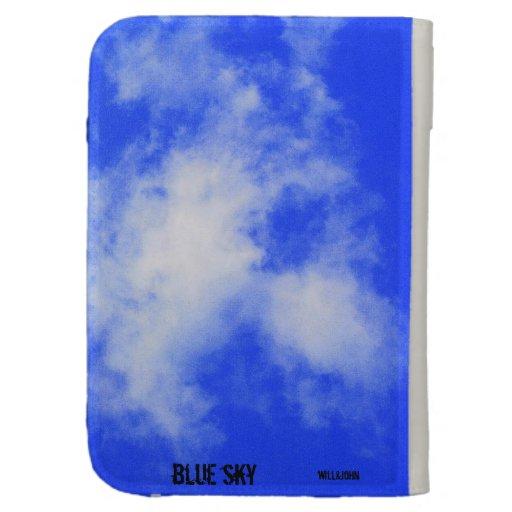 Encienda el cielo azul del caso
