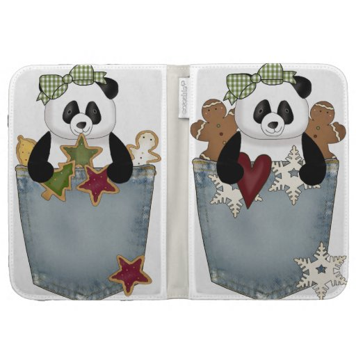 Encienda el oso de panda del pan de jengibre del c