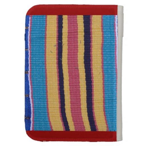 Encienda la caja, materia textil de Africa Occiden