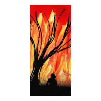 Encienda la figura de la pintura a pistola v2 deba tarjeta publicitaria personalizada