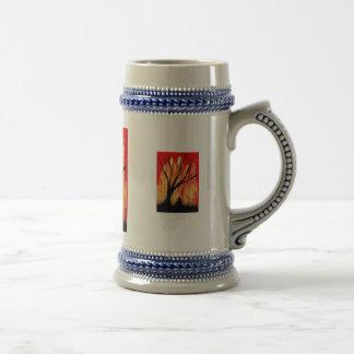 Encienda la figura de la pintura a pistola v2 deba taza de café