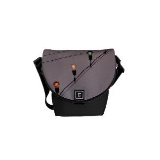 Encienda la manera - la bolsa de mensajero (mini) bolsas de mensajeria