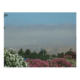 Encienda la neblina del fuego cerca de Chico CA Tarjetas Postales