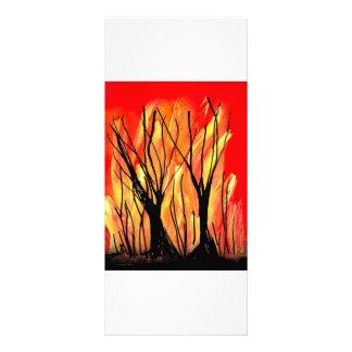 Encienda la pintura de aerosol v1 que pinta árbole plantilla de lona