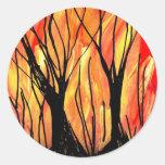 Encienda la pintura de aerosol v1 que pinta pegatina redonda