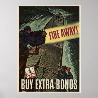 ¡Encienda lejos! Compre enlaces de guerra adiciona Póster