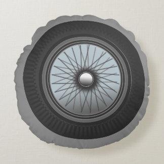 Encienda su almohada del neumático de los motores cojín redondo