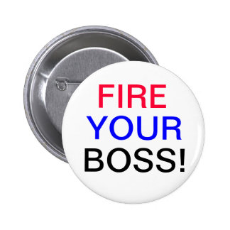 Encienda su botón de Boss Pin Redondo De 2 Pulgadas
