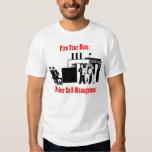 Encienda su camiseta del jefe remera