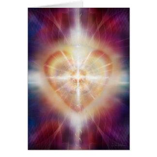 """Enciéndase en la sombra #45 - """"el corazón ligero """" tarjeta de felicitación"""