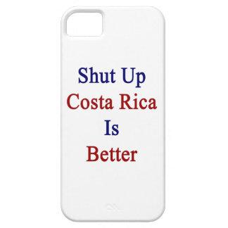 Encierrado Costa Rica es mejor iPhone 5 Case-Mate Cárcasa