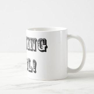 Encierro del tonto taza de café