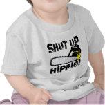 ¡Enciierre al Hippie! Camiseta