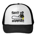 ¡Enciierre al Hippie! Gorras