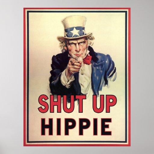 Enciierre al Hippie Impresiones
