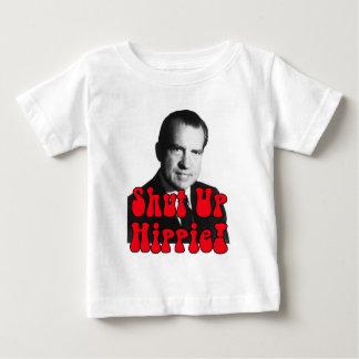Enciierre al Hippie -- Richard Nixon Playera De Bebé