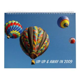 Encima de ascendente y lejos en 2009 calendarios
